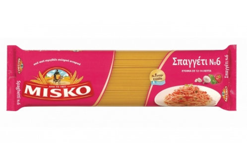 Misko Spaghetti No.6 (Case 24x500gr)