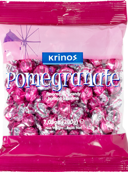 KRINOS CANDY - VARIED FLAVORS (CASE @ 12X200gr)
