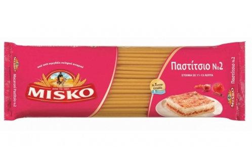 Misko Pasta No.2 (Case 24x500gr)