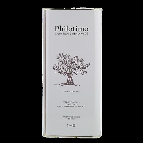 PHILOTIMO EVOO 5L TIN