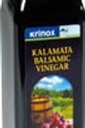 Krinos Balsamic Vinegar (Case @ 6x250ml)