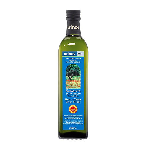 Krinos Kalamata Extra Virgin Olive Oil (Varied Case Sizes)