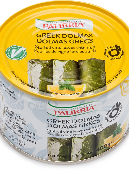 PALIRRIA GREEK STYLE DOLMAS (CASE @ 12x400gr)