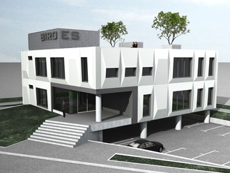 Poslovna stavba Biro ES, Ljubljana