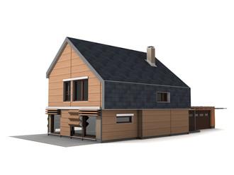 Idejni projekt pasivne hiše