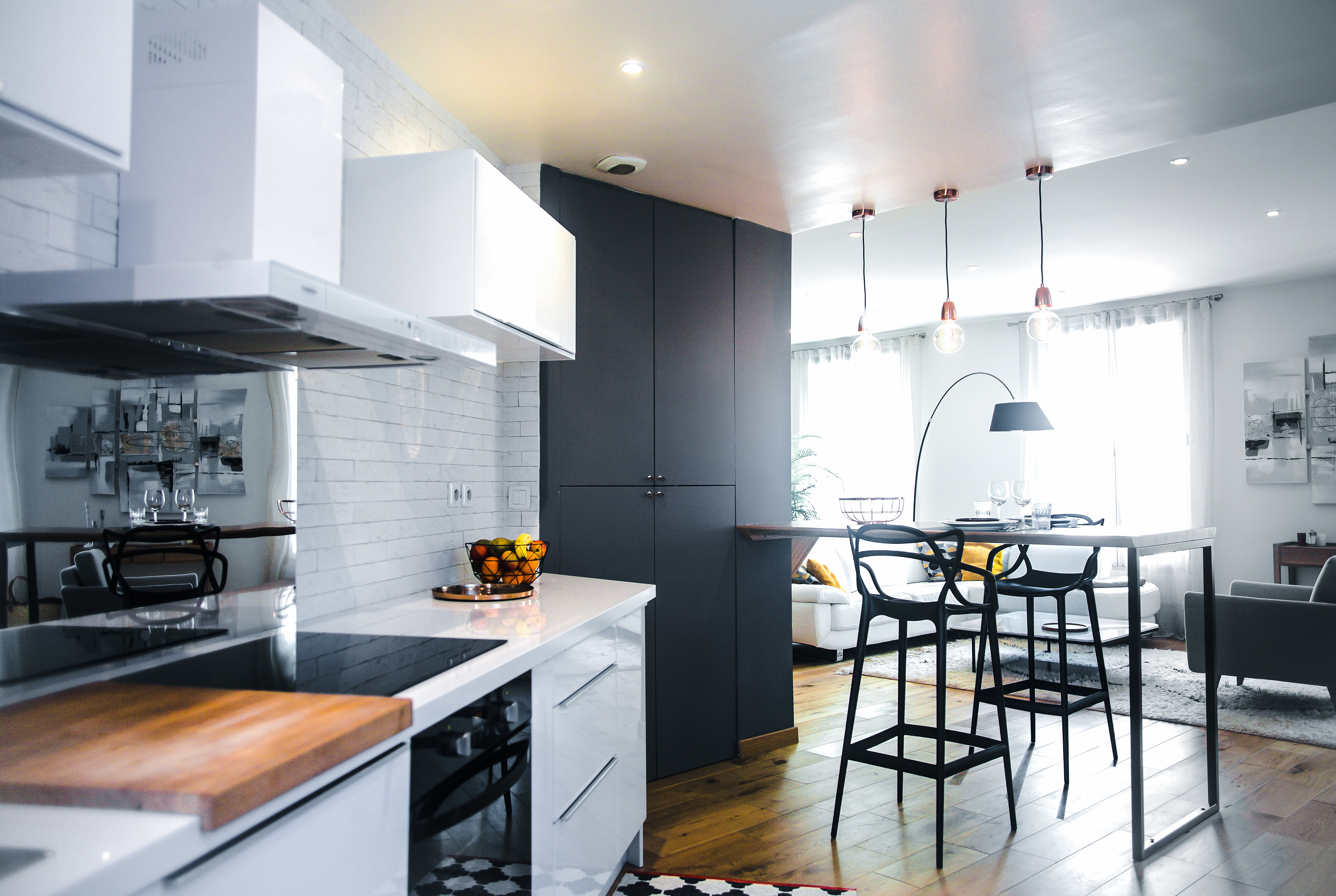 audrey boey architecte d 39 int rieur et d coratrice bordeaux cuisine ouverte. Black Bedroom Furniture Sets. Home Design Ideas