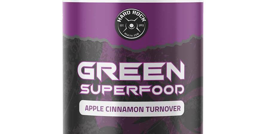 Hard Rock Health® Green Superfood Apple Cinnamon Turnover