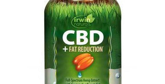 Irwin Naturals - CBD Capsules - CBD + Fat Reduction - 15mg