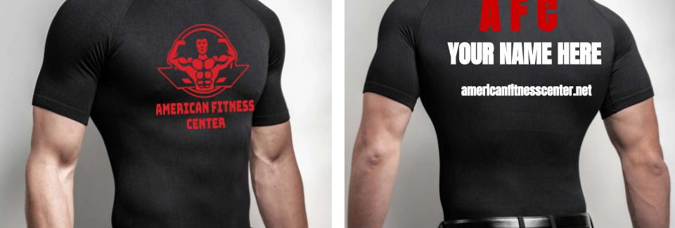 AFC Pro Customizable Men's A4 Compression Shirt