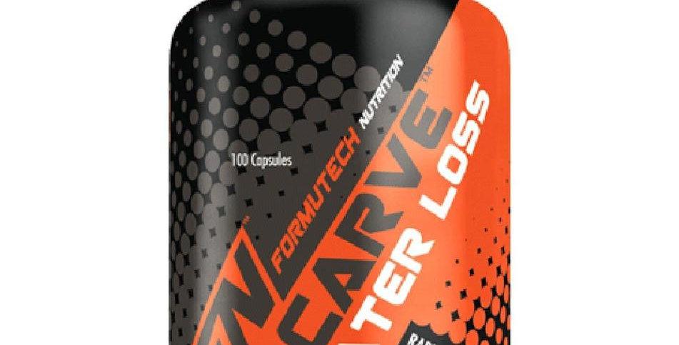 Formutech Nutrition - CARVE - Water Loss Diuretic - 100 Veggie Caps