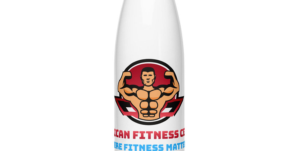 AFC Pro Stainless Steel Water Power Bottle