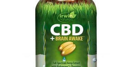 Irwin Naturals - CBD Capsules - CBD + Brain Awake - 30mg