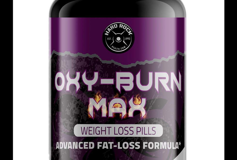 Hard Rock Health® OXY-Burn Advanced Fat Busting Weight Loss Pills