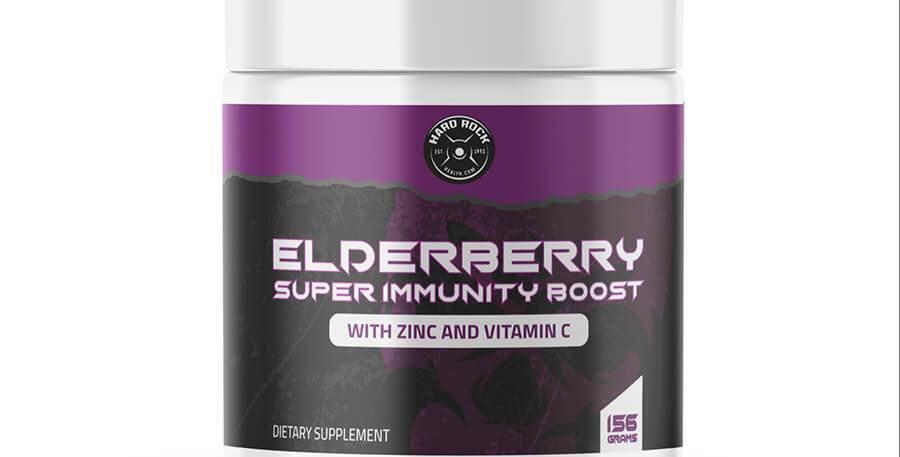 Hard Rock Health® Elderberry Super Immunity Boost