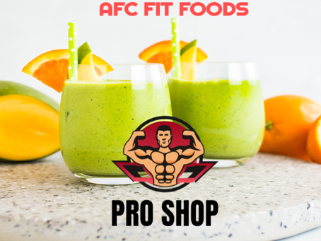 AFC FIT FOODS: AFC TROPICAL BCAA, COLLAGEN, AND MULTI-GREENS SMOOTHIE RECIPE