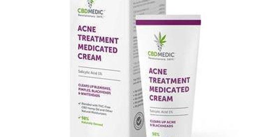 CBDMEDIC - CBD Topical - Acne Treatment Medicated Cream