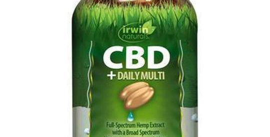 Irwin Naturals - CBD Capsules - CBD + Daily Multi - 30mg