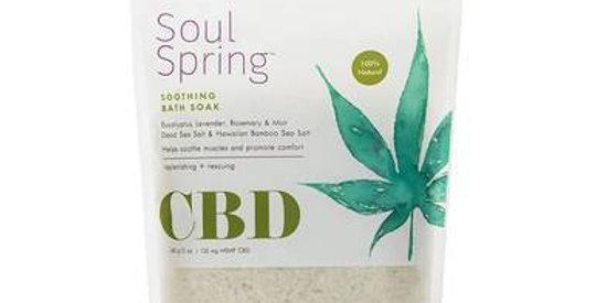 SoulSpring - CBD Bath - Soothing Bath Soak - 125mg