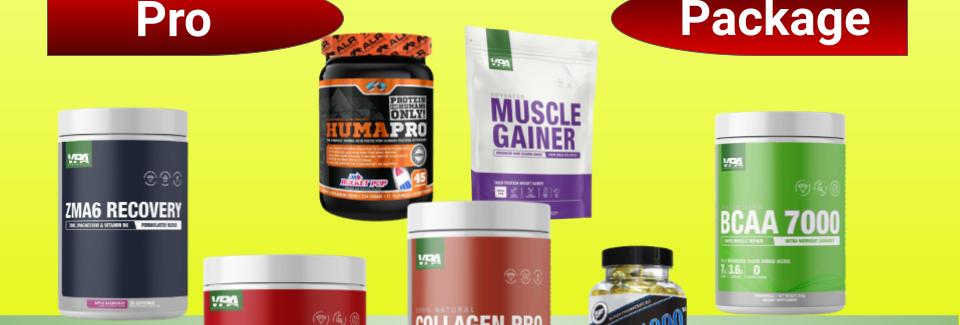 AFC Pro Women's Muscle Building Bundle - Pro Package