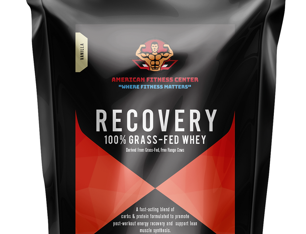 AFC Pro Grass-Fed Recovery Whey Protein
