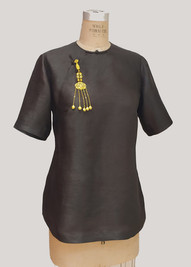Bespoke Tailored Qipao Top 長衫旗袍 by Henry Tsang