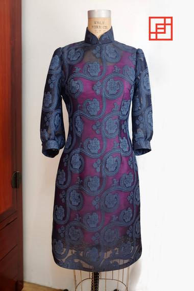 Bespoke Tailored Qipao Cheongsam 長衫旗袍 by