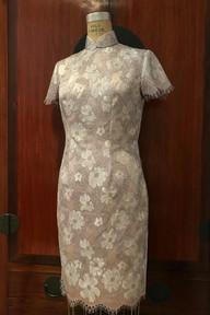 Bespoke Tailored Qipao Cheongsam 長衫旗袍 by Henry Tsang