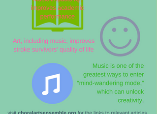 Music makes you feel good and more...