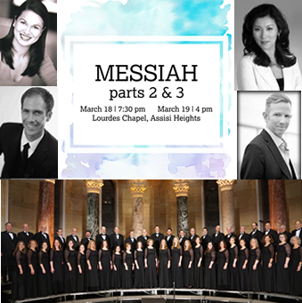 messiah with soloists and choir