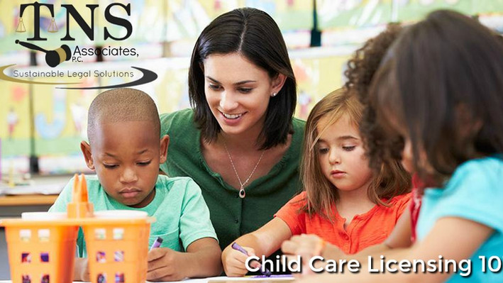 Child Care Licensing 101