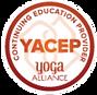 YACEP Yoga Alliance, Continuing Education Provider