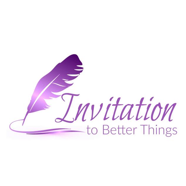 Logo Design Invitation to Better Things.