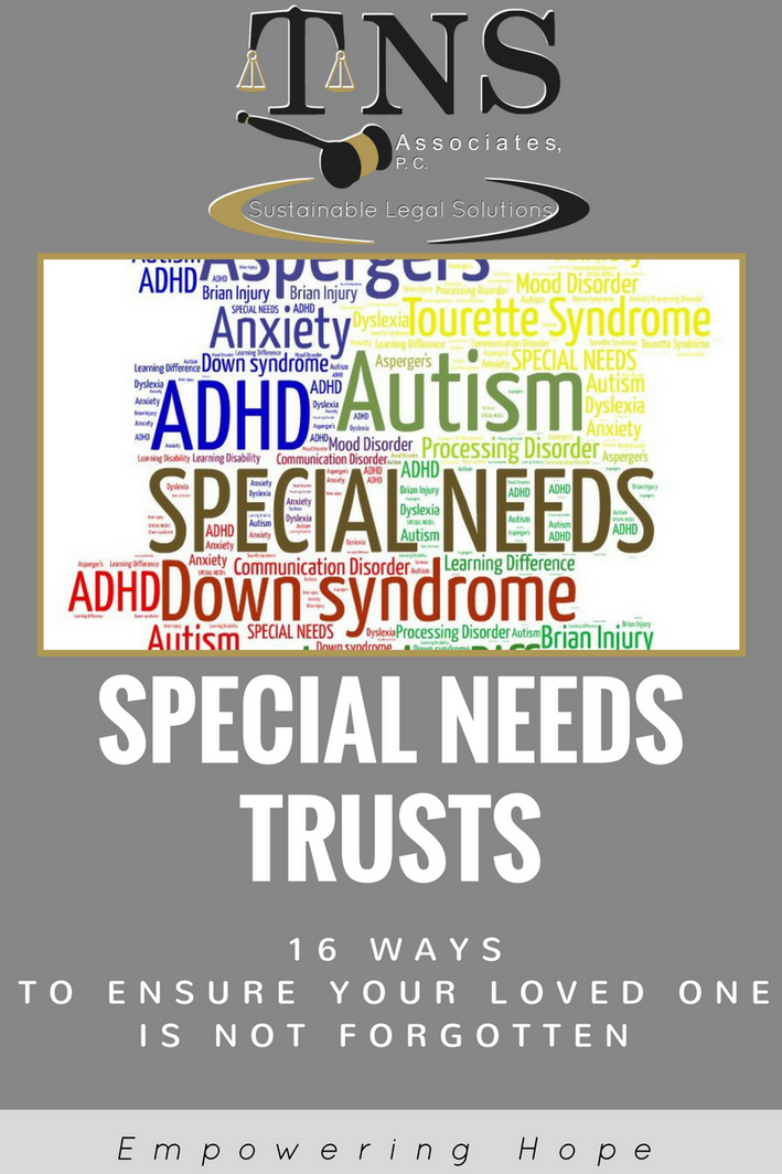 Special Needs Trusts