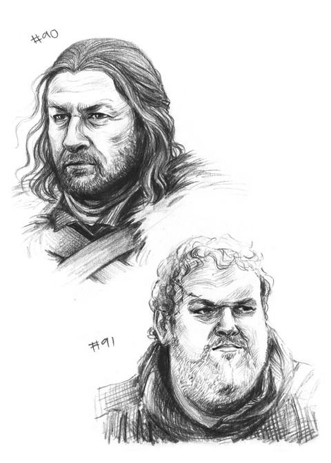 Ned Stark, Hodor