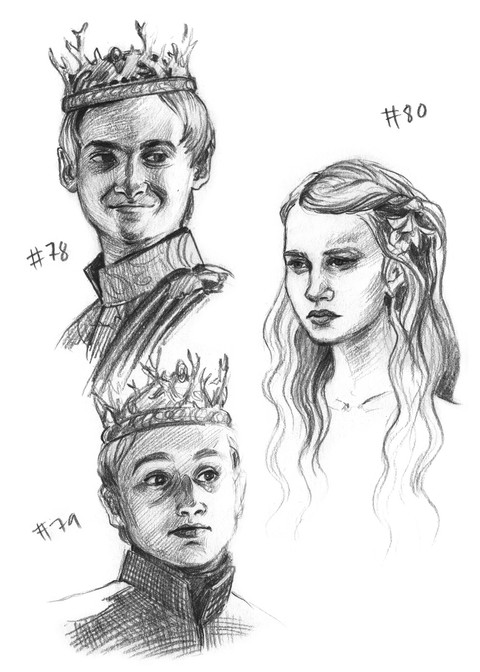 Joffrey, Myrcella and Tommen Baratheon