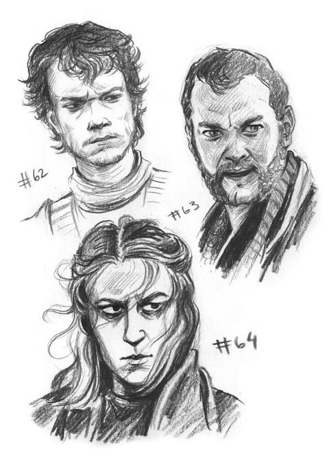 Theon, Euron and Yara Greyjoy