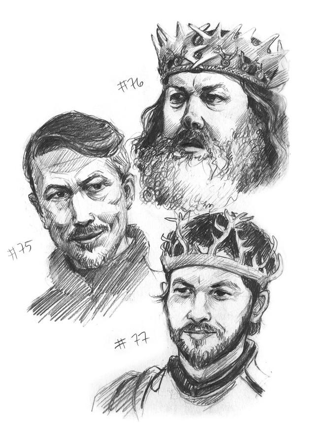 Littlefinger, Robert Baratheon, Renley Baratheon