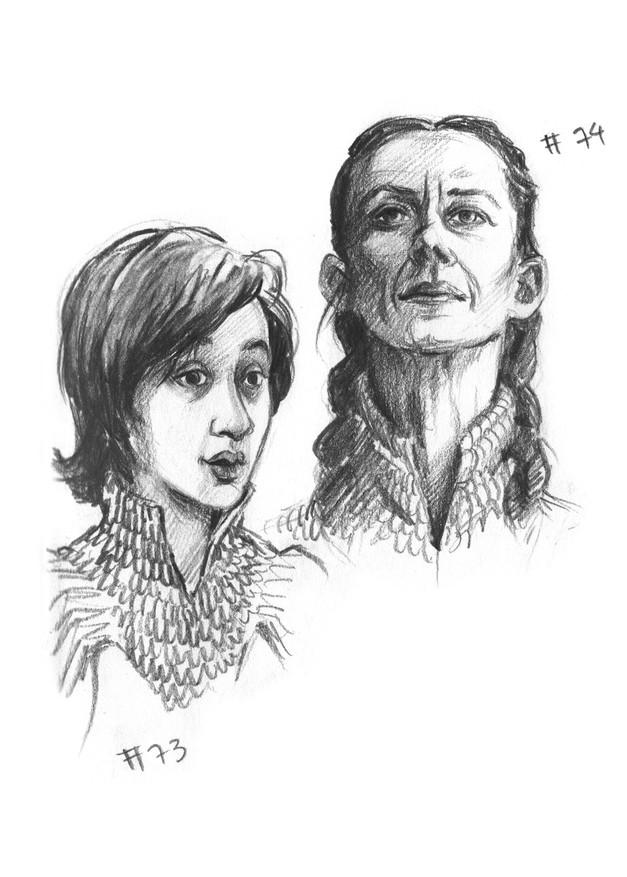 Robin and Lysa Arryn