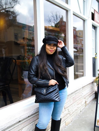 My Top Leather Jackets for Transitional Weather