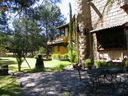 Casa principal entrada