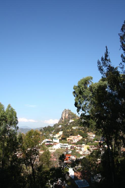Vista al Lago Valle de Bravo
