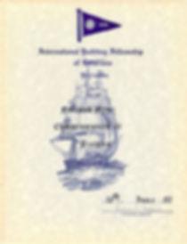IYFR Finland Fleetin perustamiskirja