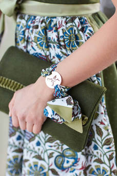 Pochette & Amulett-Armband