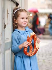 Kinder-Smockkleid und Bolero