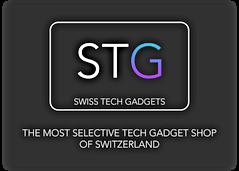 STG, Logo, Swiss Tech Gadgets, geek shop, consumer electronic, electronic store, elektroik shop, geek