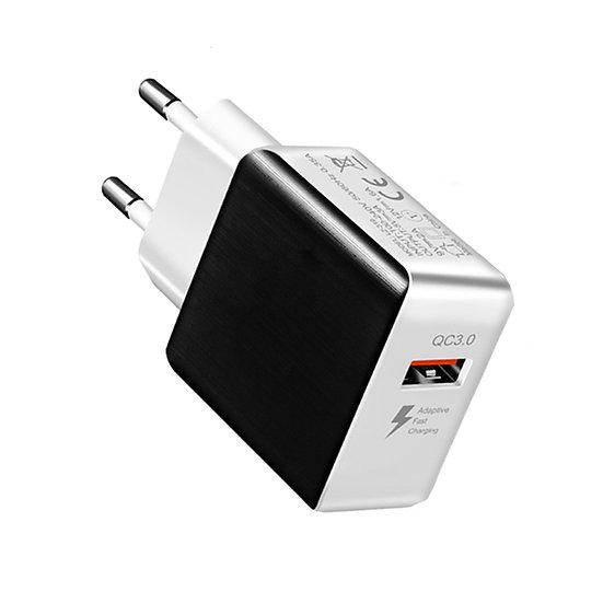 QC Ladegeraet: Quick Charge USB-Charger, QC-3.0