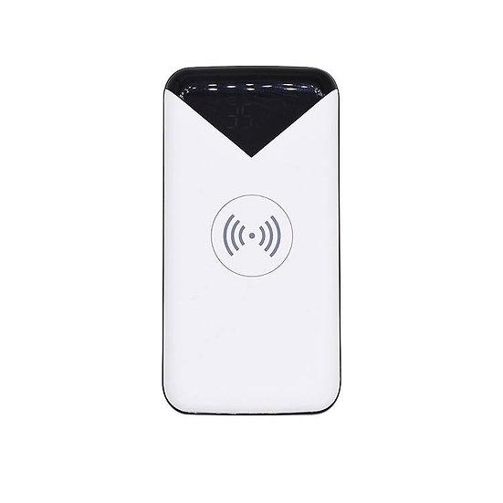 Hochleistungs Powerbank: Akku mit 20Ah (20'000mAh), Qi, Wireless laden