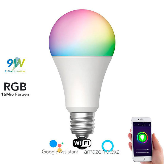 Smart, bulb, glühbirne, wi-fi, bluetooth, rgb, app, home, led, lampe, buy, kaufen, bestellen, store, shop, online
