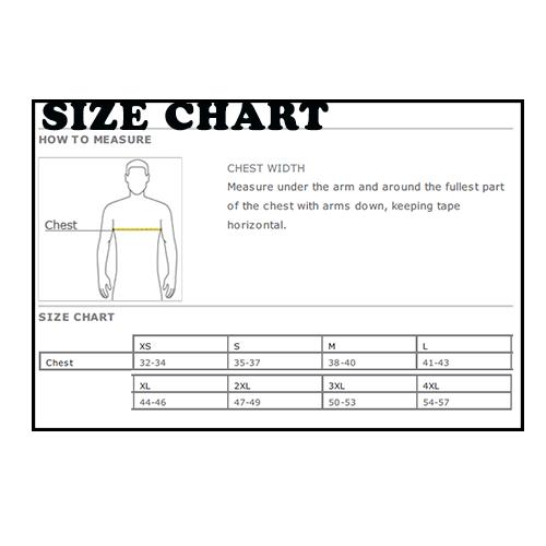 Men's Size Chart