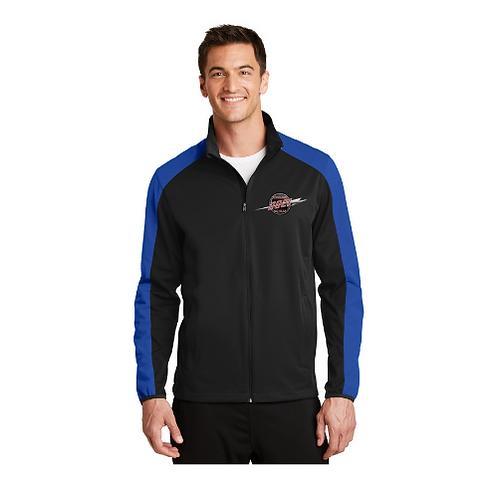 Men's Soft Shell Jacket, Zip Front